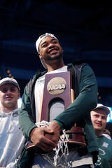 Nick Ward and the Spartans made it to the Final Four before they lost to Texas Tech.