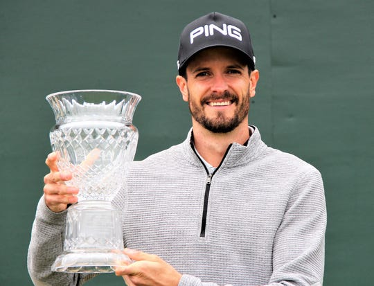 Eric Lilleboe of Okemos was declared winner of the 102nd Michigan Open Championship in Traverse City after the final round was rained out Thursday.