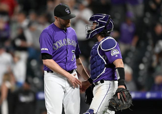 The Colorado Rockies host the Padres at 1:10 p.m. Sunday.