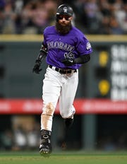 The Colorado Rockies host San Diego at 6:10 p.m. Saturday.