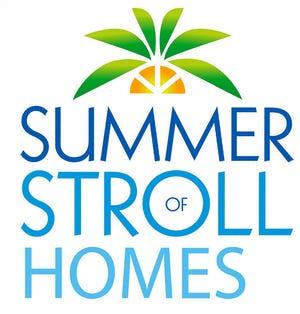 Summer stroll of homes