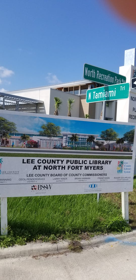 Lee County Commissioners will be asked to put up more money this week to improve the appearance of the new North Fort Myers library, due to open this summer.
