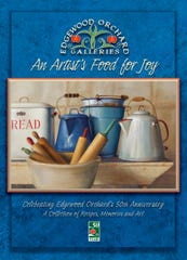 "Edgewood Orchard Galleries is offering a new cookbook for sale, ""An Artist's Food for Joy,"" with the full purchase price of each book to be donated to nonprofit organizations benefiting children."