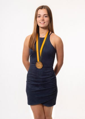 Caragan Olles, 17, was named as a top 10 youth volunteer in May.