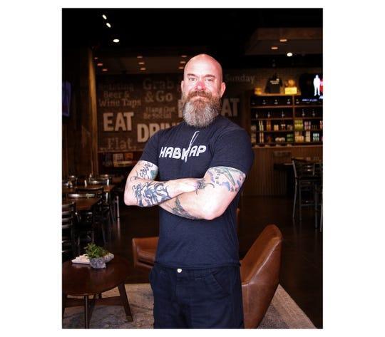 Habitap co-owner Chad Gangwer