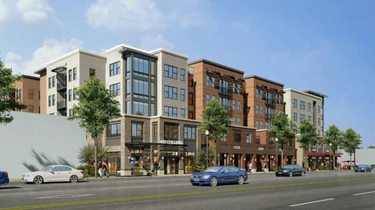 Rendering of 405 College Avenue development proposal