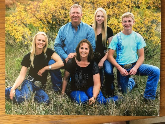 The family of Cathy and Dave Wieferich of Sidney includes daughters LaTasha and Tesa, and son Tate. Dave and Cathy own and operate Brookman Rodeo Co., which was started by Cathy's grandfather, the late Marvin Brookman of Wolf Point.