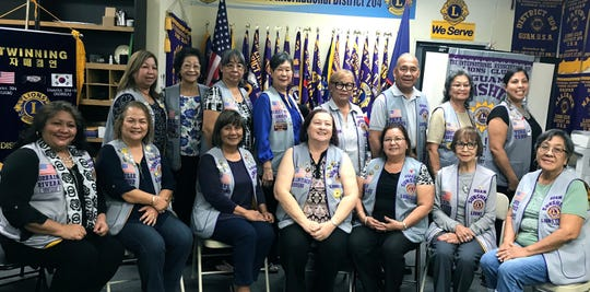 Guam Sunshine Lions Club installed its officers for Lion Year 2019-2020 on May 21 at the District Office in Tamuning.