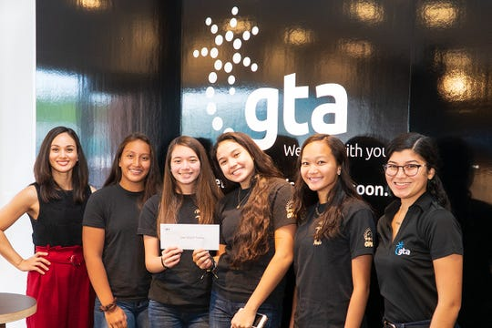 GTA donated $1,000 to support the Guam Girls' Junior National Volleyball Team, the Haggan Nenis. They will be representing Guam in the 11th annual Summer Soiree in Anaheim, California. The competition is set to take place from June 28 through July 1.