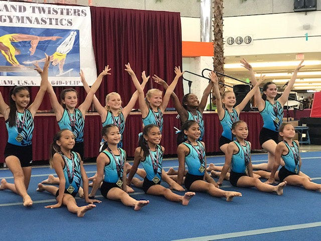 Island Twisters Gymnastics held a gymnastics demonstration June 9.