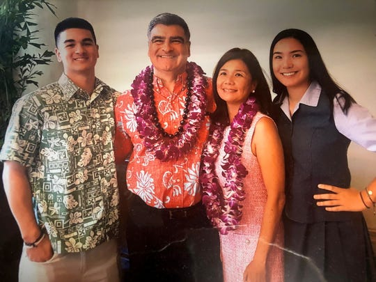 Rodney Jacob and family