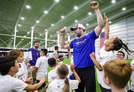 Kids Day at the Indianapolis Colts Training Camp is slated for July 27 at Grand Park in Westfield.