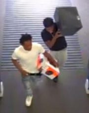 The Jackson Police are seeking assistance in identifying two persons of interest possibly involved in a burglary.