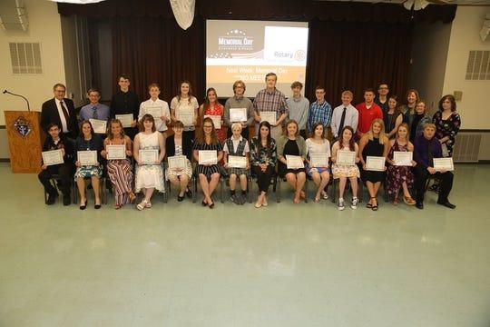 2019-2020 Rotary Scholarship Recipients