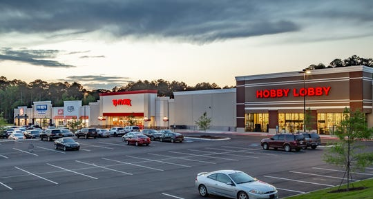 The 103,413 square foot Ruston Marketplace shopping center is anchored by major national retailers Hobby Lobby, TJ Maxx, ULTA, Five Below and Rack Room Shoes.