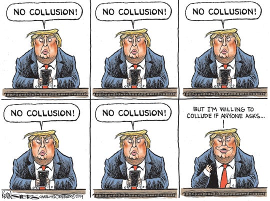 trump willing to collude