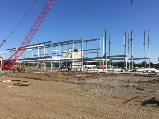 Another view of the educational areas taking shape for the new Licking Heights High School, scheduled to open for the 2020-21 school year.