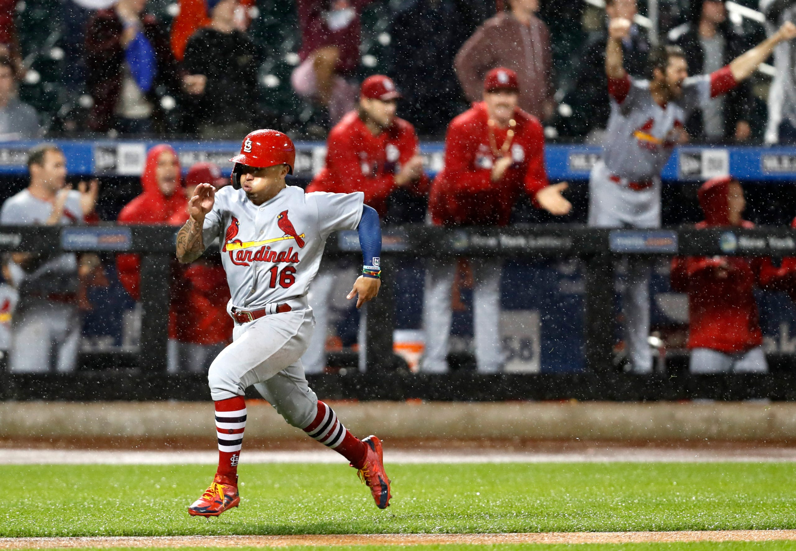 NY Mets, St  Louis Cardinals game suspended