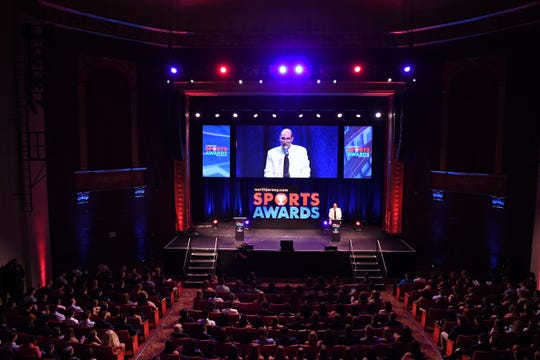 Darren Cooper hosts the 2019 NorthJersey.com Sports Awards at Bergen Performing Arts Center in Englewood on Thursday, June 13, 2019.