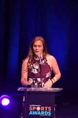 The 2019 NorthJersey.com Sports Awards at Bergen Performing Arts Center in Englewood on Thursday, June 13, 2019. Softball, Ryleigh White, IHA.