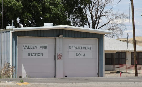San Juan County's fire station in Waterflow is pictured, Friday, June 14, 2019. The fire station is part of District 1, also known as Valley Fire Department.