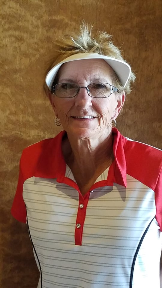 Bonnie Lassiter was Foundaers Day Tournament champion with a low net score of 59 over the field.