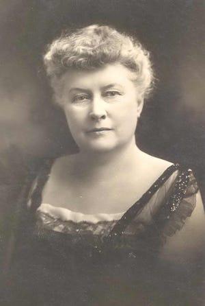 Jessie Jack Hooper, an influential suffragist from Oshkosh, circa 1920.