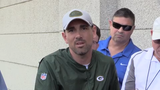 Packers head coach Matt LaFleur discusses how Aaron Rodgers can enhance the new offense.