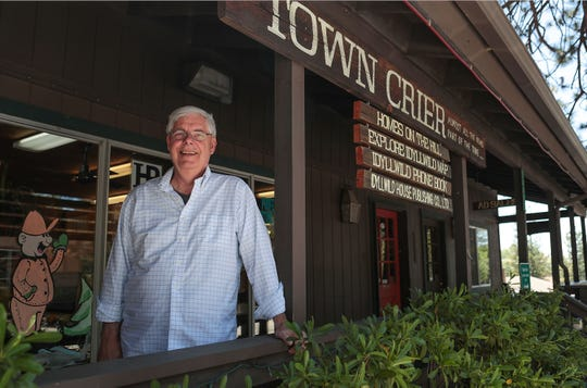 News Editor JP Crumrine also does reporting and writing for the Idyllwild Town Crier, June 13, 2019.