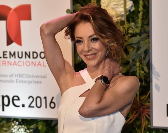 Actress Edith González, seen Jan. 19, 2016, died Thursday, June 13, at age 54.