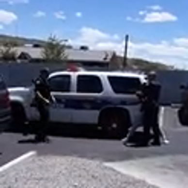 Phoenix police confrontation captured on cellphone video