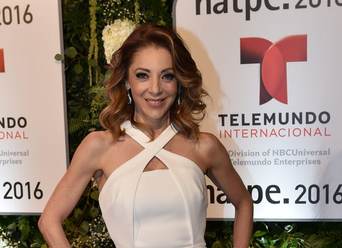 c95b3ee37aa June 13, 2019: Edith González, a leading TV actress in Mexico, has