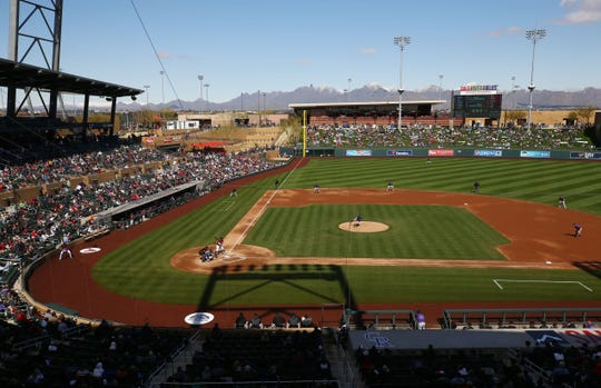 The architecture firm that designed the Arizona Diamondbacks' spring-training facility, Salt River Fields, is reportedly the team's choice to design a possible replacement for Chase Field.