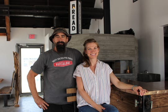 Jason and Katherine Dwight, owners and operators of Persepshen restaurant in uptown Phoenix.