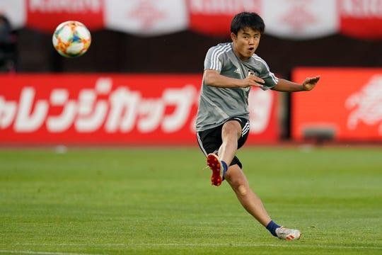 Takefusa Kubo se desarrollará con uno de los clubes más importantes del mundo.