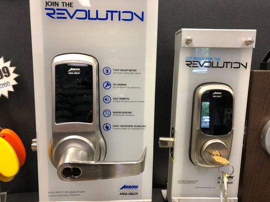 A sampling of smart locks found at Reed's Lock in Annville, which has been in business over 40 years in part by staying ahead of the technological curve in the locksmithing industry.