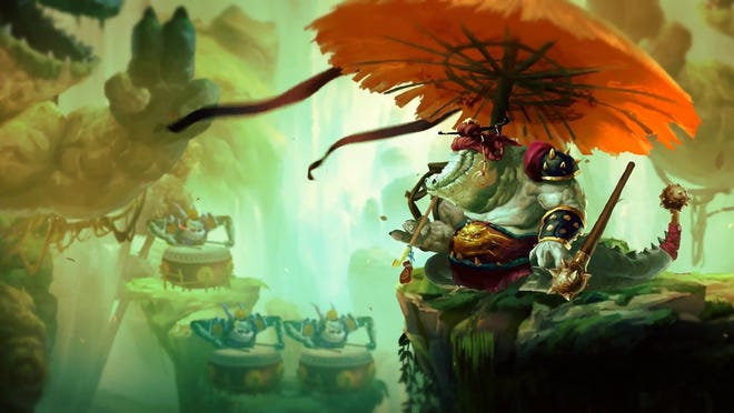 Unruly Heroes for PC, PS4, Switch and Xbox One.