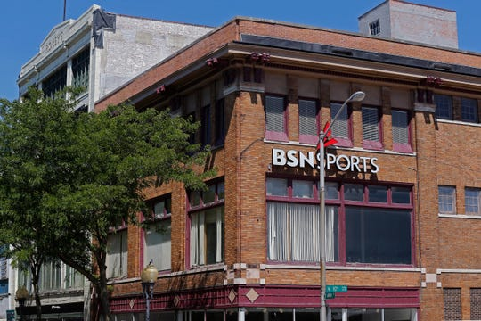 The BSN Sports buildings at the corner of East Main and 10th streets in Richmond are one of four projects that will be pushed to investors as local officials try to take advantage of the downtown area being labeled an Opportunity Zone.