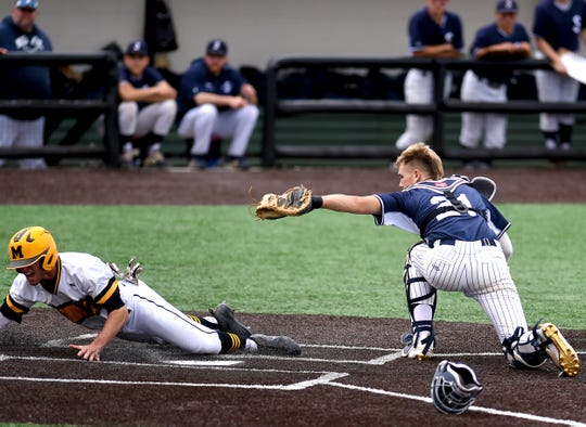 2019 NYSPHSAA Baseball Championship Semifinal, Class AA Suffern vs. McQuaid Jesuit, Binghamton University, June 14, 2019.