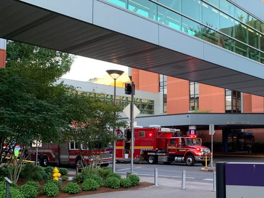 Crews from Salem Fire Department responded to a report of a strong odor at Salem Hospital early Friday, June 14, 2019.