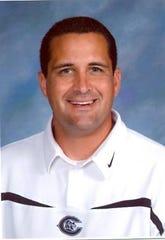 Canadian High School girls basketball coach Kevin Richardson