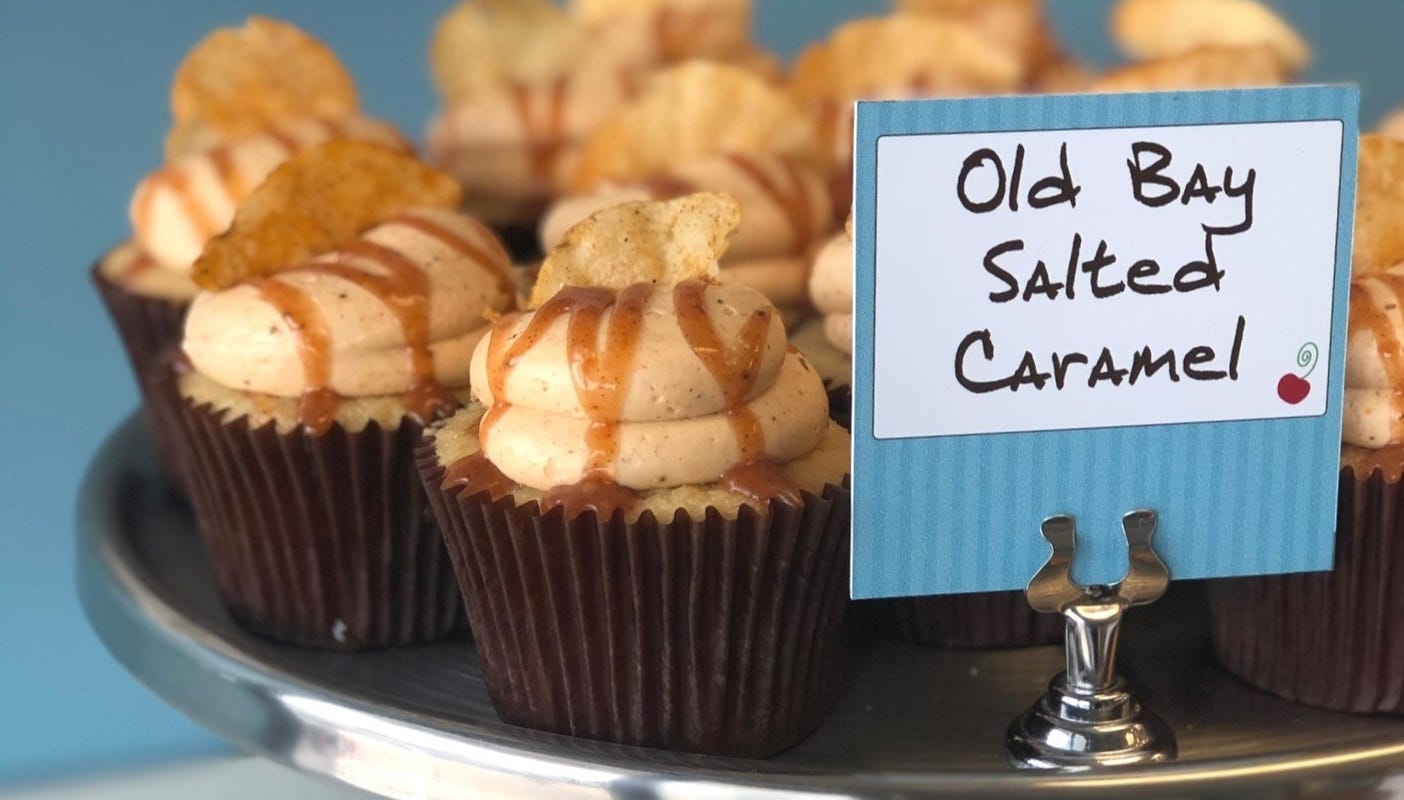Old Bay salted cupcake: would you try this new dessert?