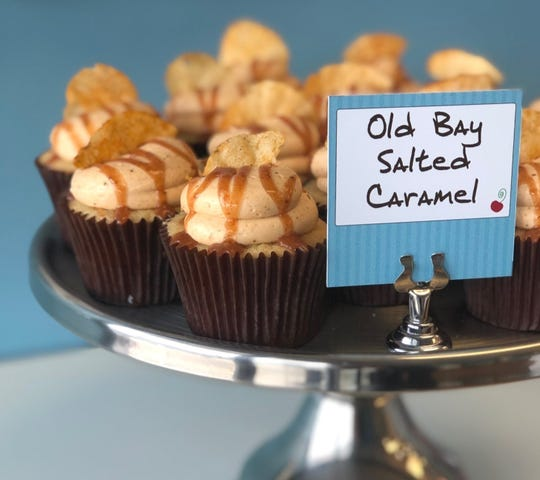 The Old Bay Salted Caramel cupcake sounds like the perfect Maryland-style dessert.