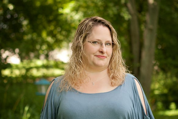 "Shannon Schuren is a librarian in Sheboygan Falls whose debut young adult novel ""The Virtue of Sin"" comes out on June 25. This is the first novel for the author but she has more coming out as soon as next year."