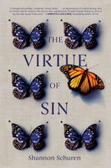 """The Virtue of Sin"" by Shannon Schuren is a young adult book about two teenagers that live in what they believe to be a perfect community but things are not as they seem."