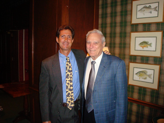 The late-Gregory Cush with his father Joseph Cush, Sr.