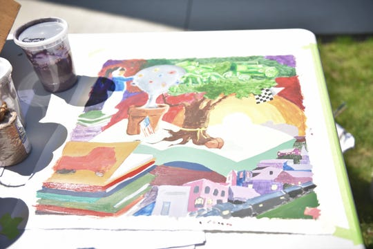 A design of what the Hartford community mural will look like.