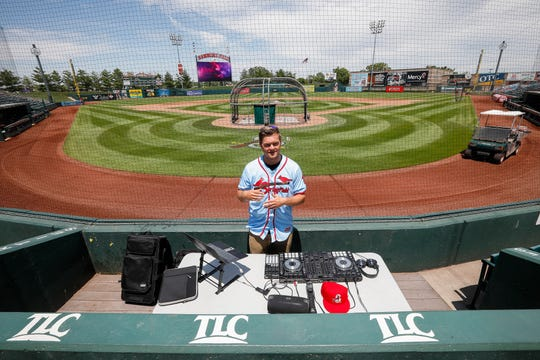 Connor Jones started to DJ as a hobby while in high school, and he's kept it up even as he plays in the minor leagues.