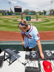 When Connor Jones isn't at work pitching for the Springfield Cardinals, he's constantly searching the internet for songs to add to his collection.