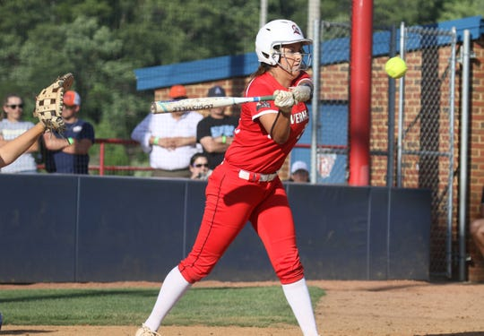 Pearl Bass was named first team all-state after her freshman softball season at Riverheads.